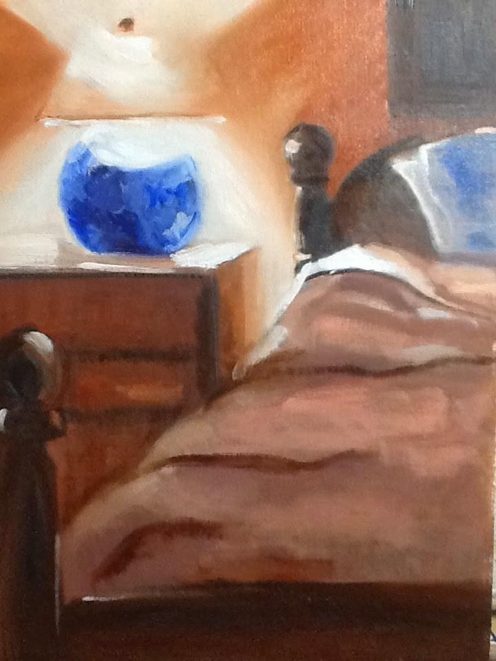 """You Are Getting Sleepy"" original fine art by Peggy Schumm"