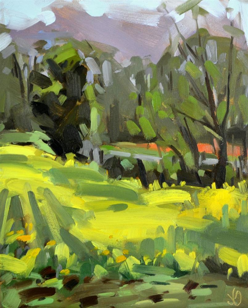 """Morning Color"" original fine art by Jessica Green"