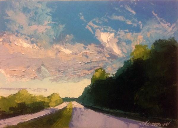 """Fall Light"" original fine art by Mary Gilkerson"