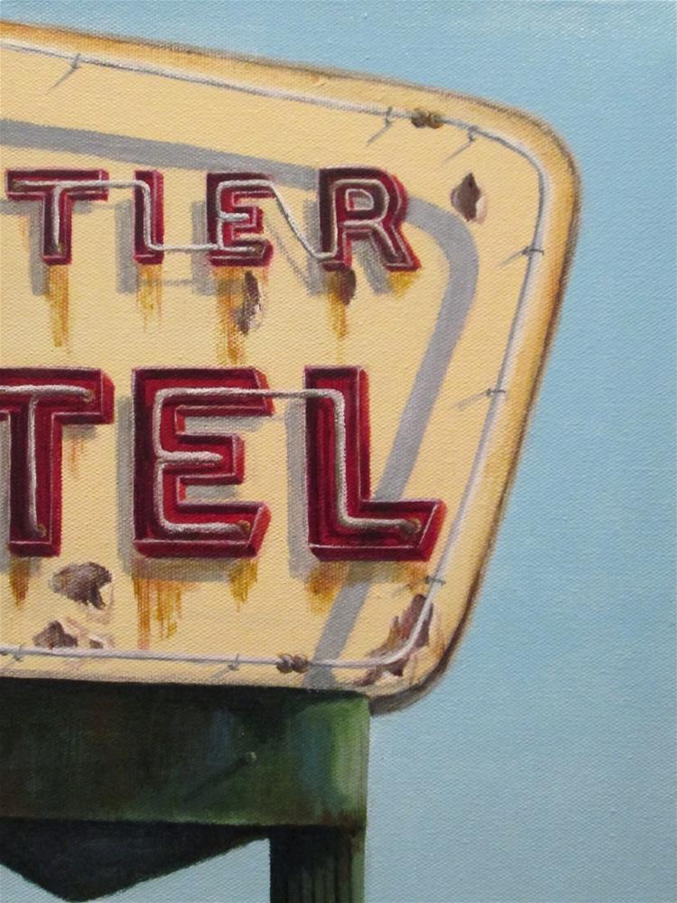 """Tier Tel"" original fine art by Debbie Shirley"