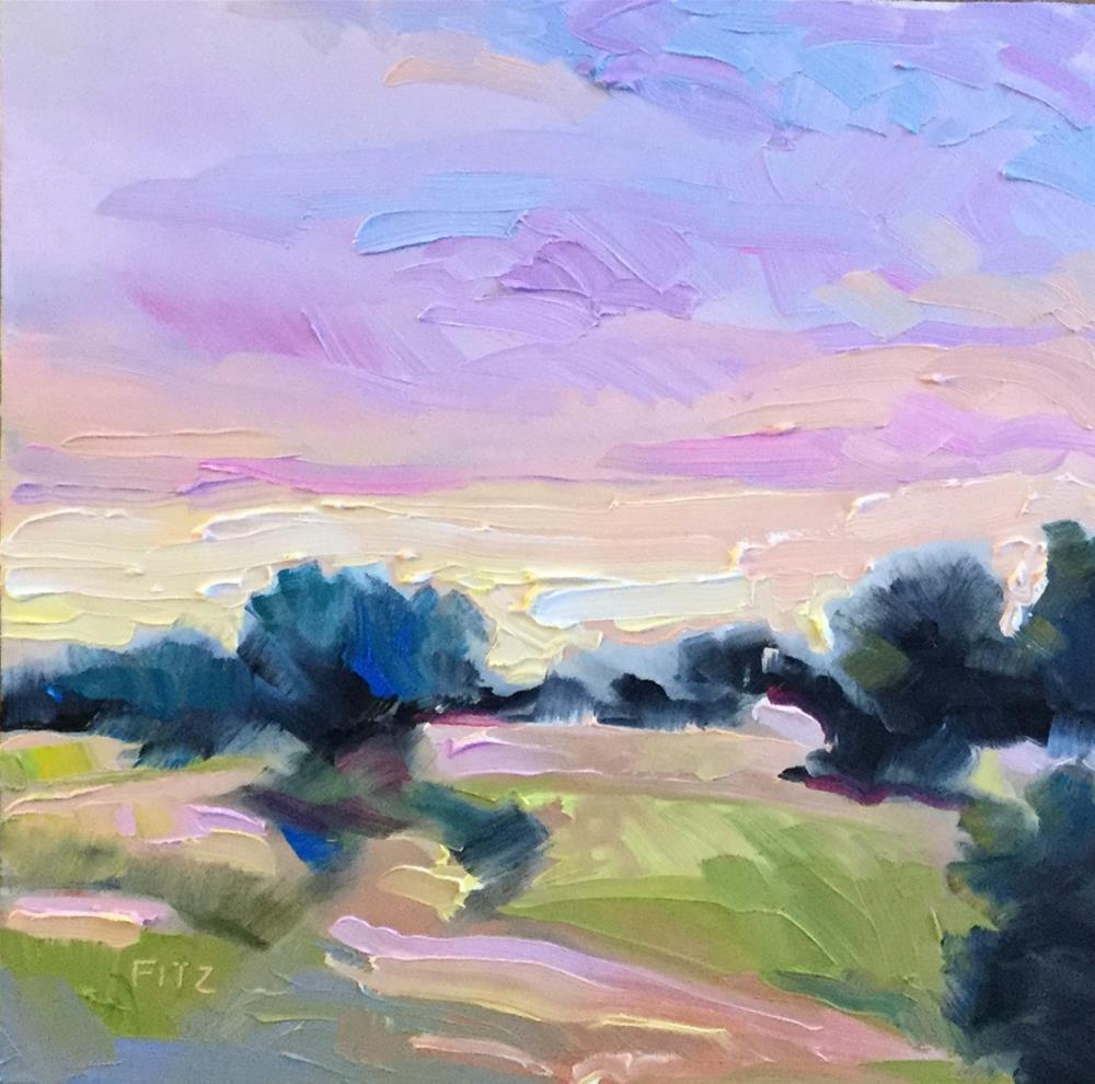 """Toward the West"" original fine art by Charlotte Fitzgerald"