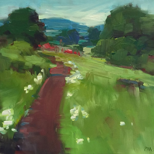 """Summer in the Spring"" original fine art by Patti McNutt"