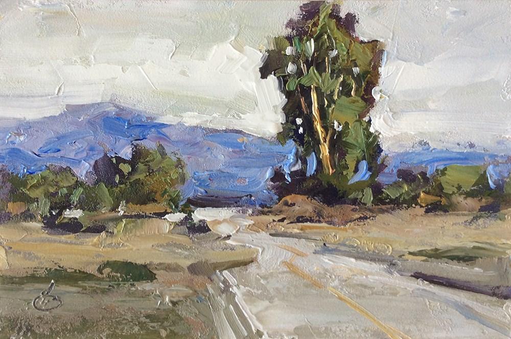 """ROAD TO ADVENTURE"" original fine art by Tom Brown"