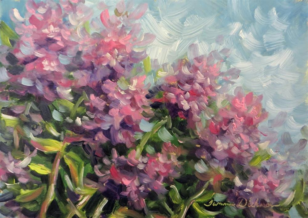 """Dreaming of Phlox"" original fine art by Tammie Dickerson"