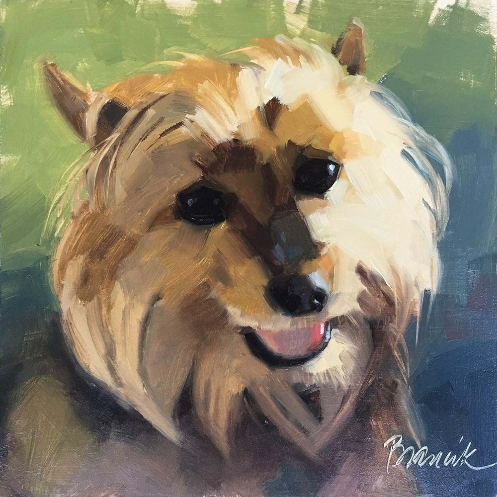 """""""Cutie"""" original fine art by Candace Brancik"""