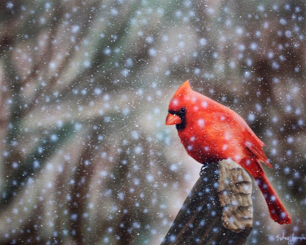 """""""Frozen Solitude"""" original fine art by Fred Schollmeyer"""