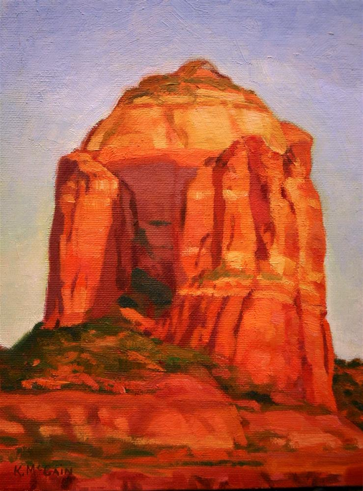 """Coffee' Pot in Sedona"" original fine art by K.R. McCain"