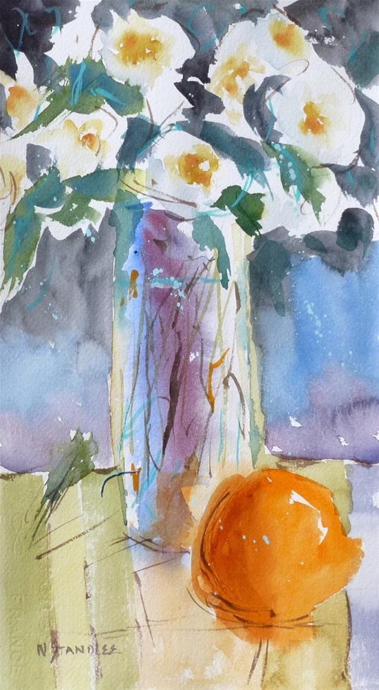 """Showcase Flowers 14058"" original fine art by Nancy Standlee"