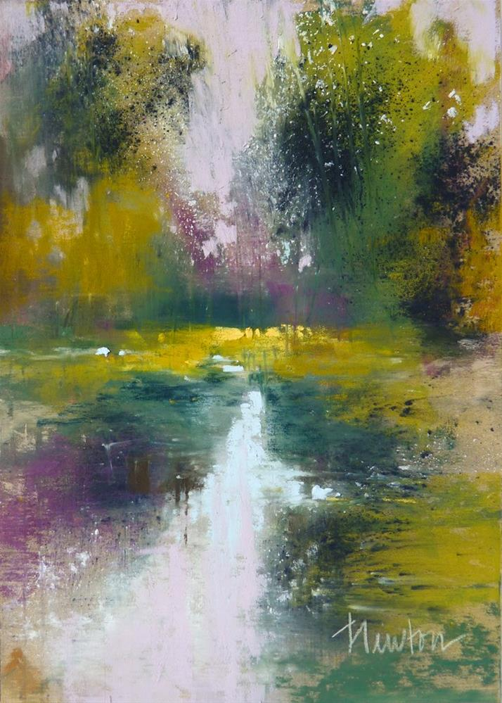 """Rock Creek Series: #2"" original fine art by Barbara Benedetti Newton"