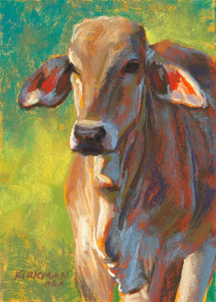 """Shimona"" original fine art by Rita Kirkman"