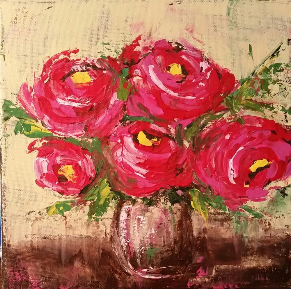"""""""45 - Believe"""" original fine art by Lisa Rogers"""
