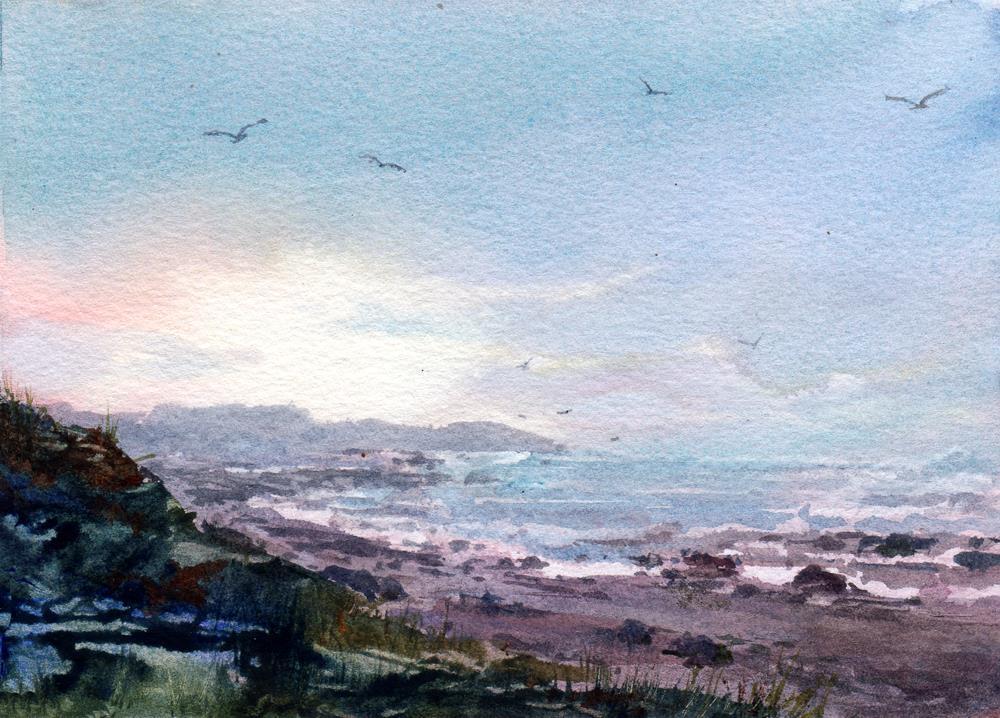 """Morning Mist"" original fine art by Linda Henry"