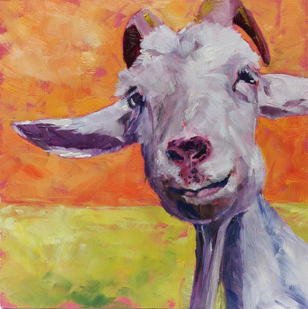 """""""What a Face!"""" original fine art by Eileen Hennemann"""
