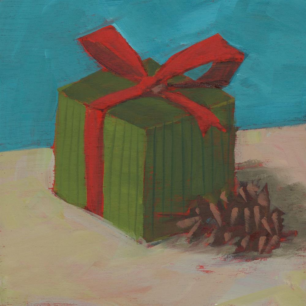 """1006: Christmas Box"" original fine art by Brian Miller"