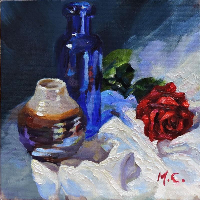 """""""La vie en rose"""" original fine art by Michelle chen"""