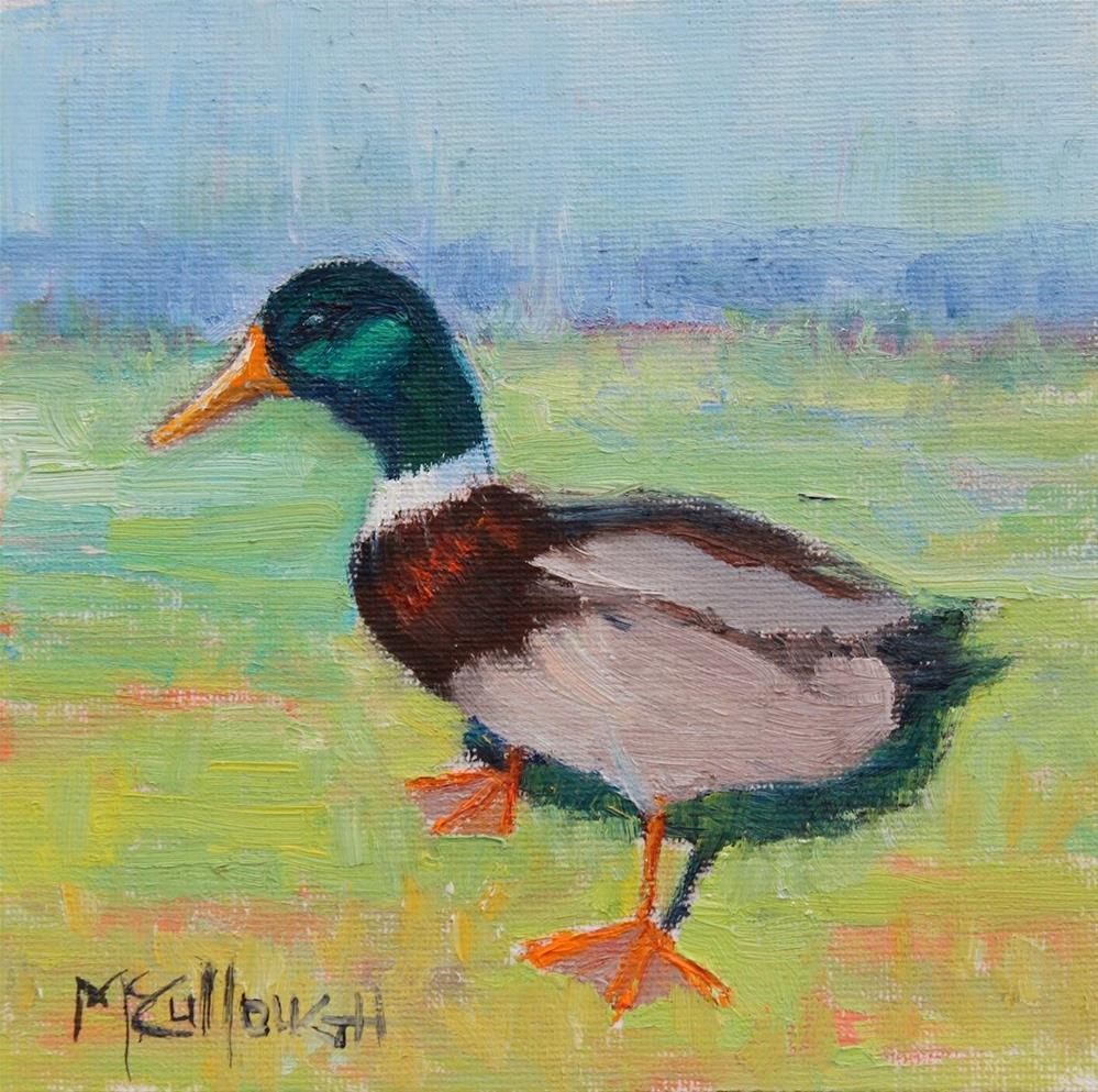 """Just Ducky"" original fine art by Susan McCullough"