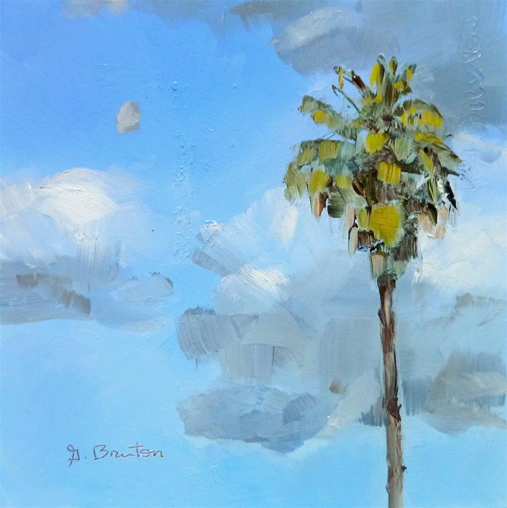 """Chance of Rain"" original fine art by Gary Bruton"