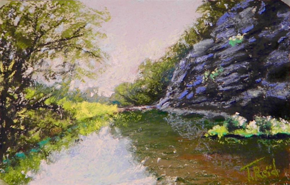 """""""Scarum Creek"""" original fine art by Toby Reid"""