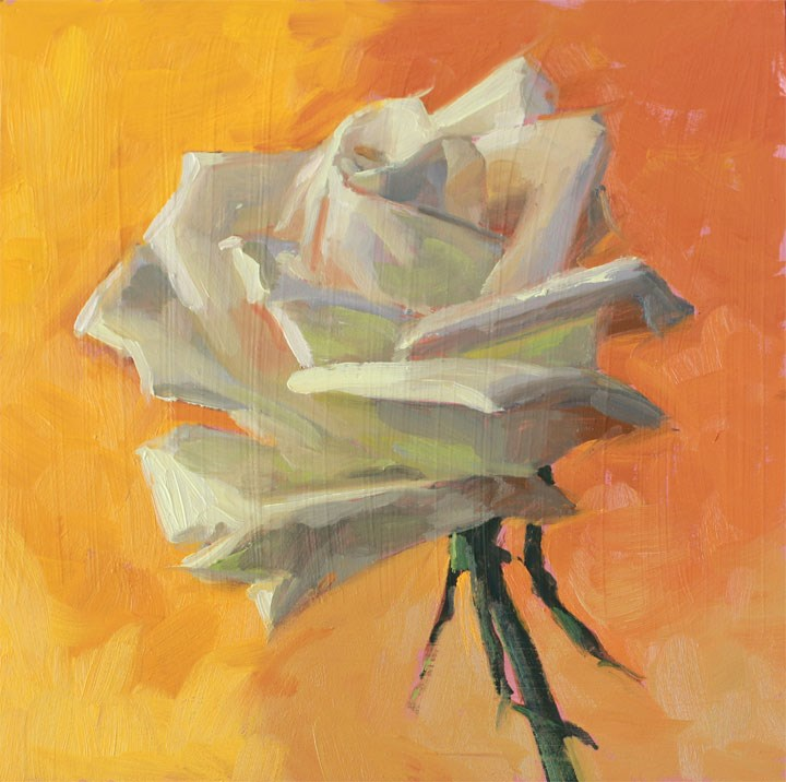 """Sweetorange"" original fine art by Nealy May Riley"