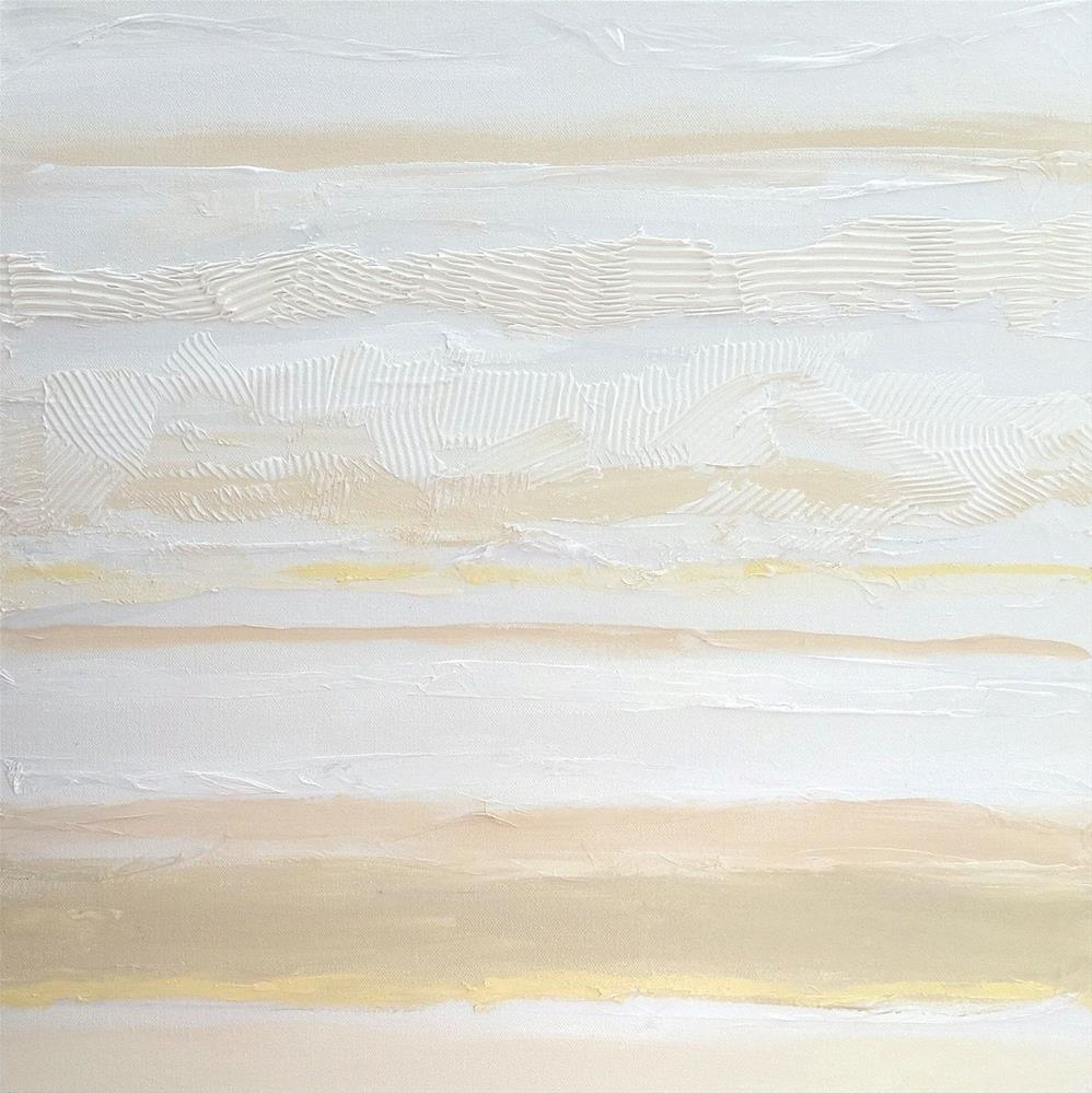 """5093 - White Lines III"" original fine art by Sea Dean"