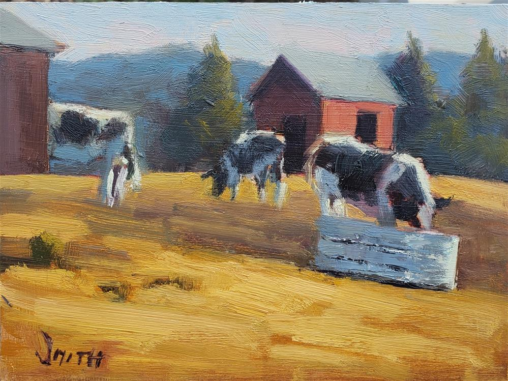 """Farm Life"" original fine art by Barbie Smith"
