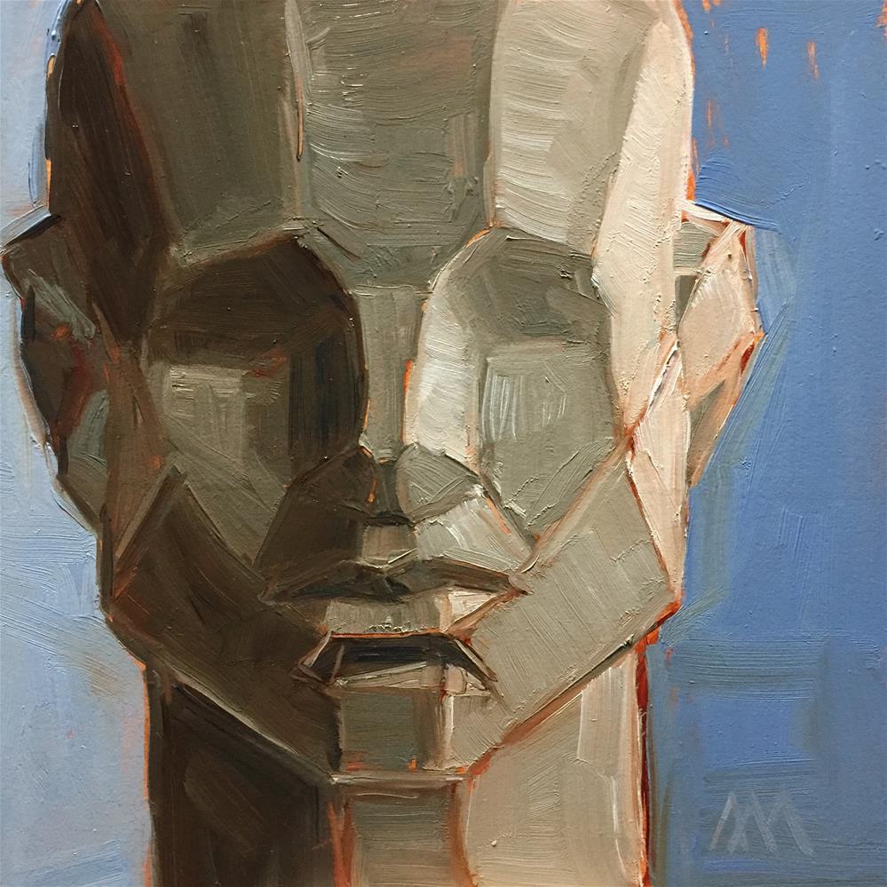 """Asaro Head Study"" original fine art by Austin Maloney"