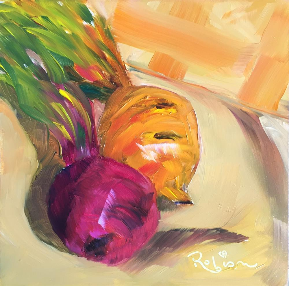 """""""My heart beets for you"""" original fine art by Renee Robison"""