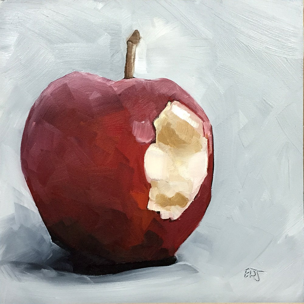 """Bite"" original fine art by Elizabeth Dawn Johnston"