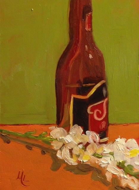 """Relaxed"" original fine art by Marjie Laizure"