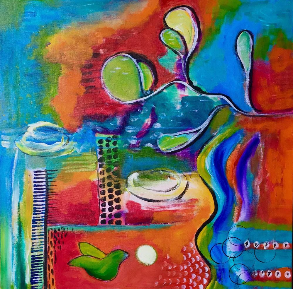 """Melody"" original fine art by Susan Bertocci"