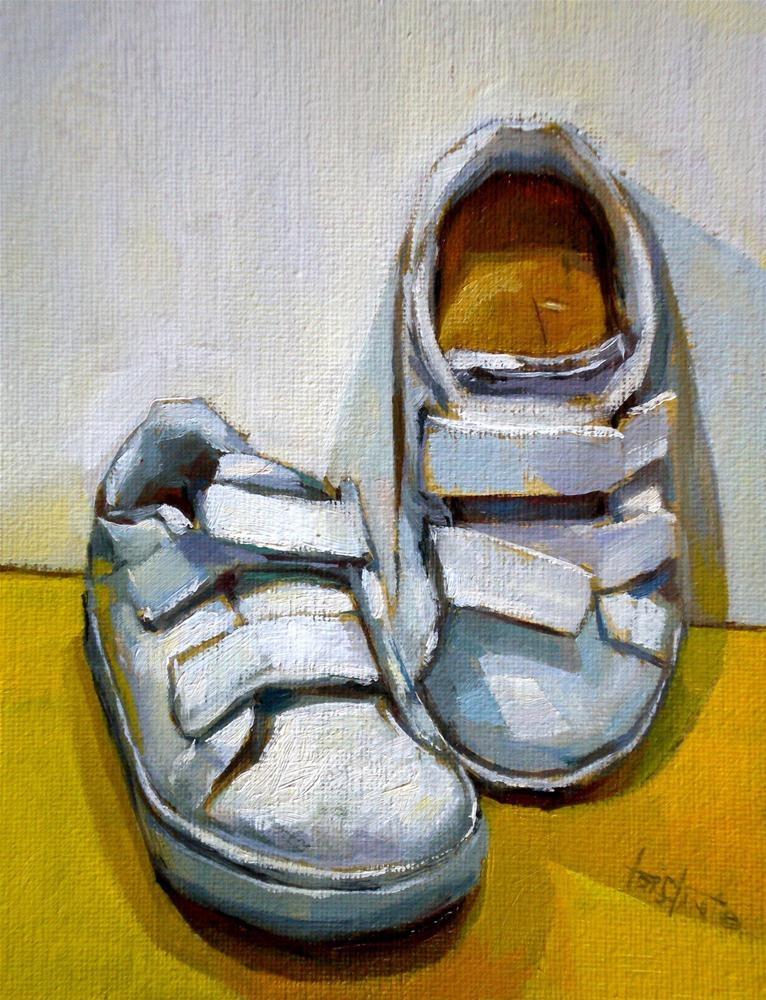 """Candela´s shoes"" original fine art by Víctor Tristante"