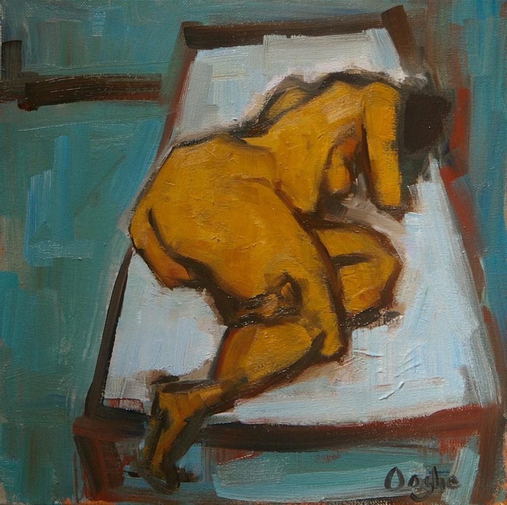 """Blue Room"" original fine art by Angela Ooghe"