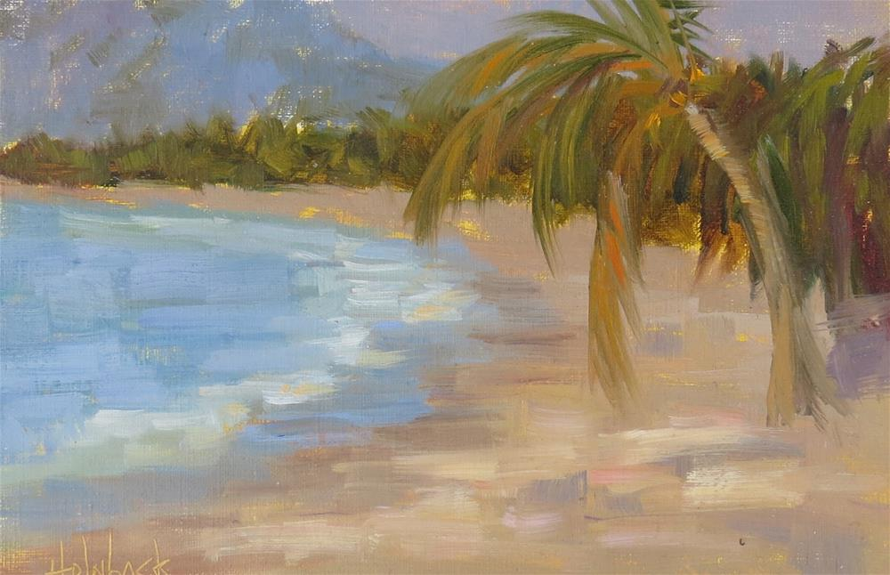 """Just A Little Bit Of Shade"" original fine art by Pam Holnback"