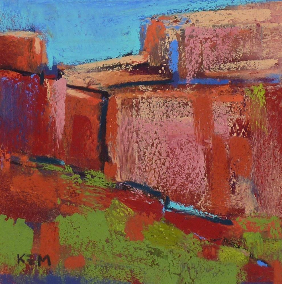 """Canyon de Chelly Abstracts"" original fine art by Karen Margulis"