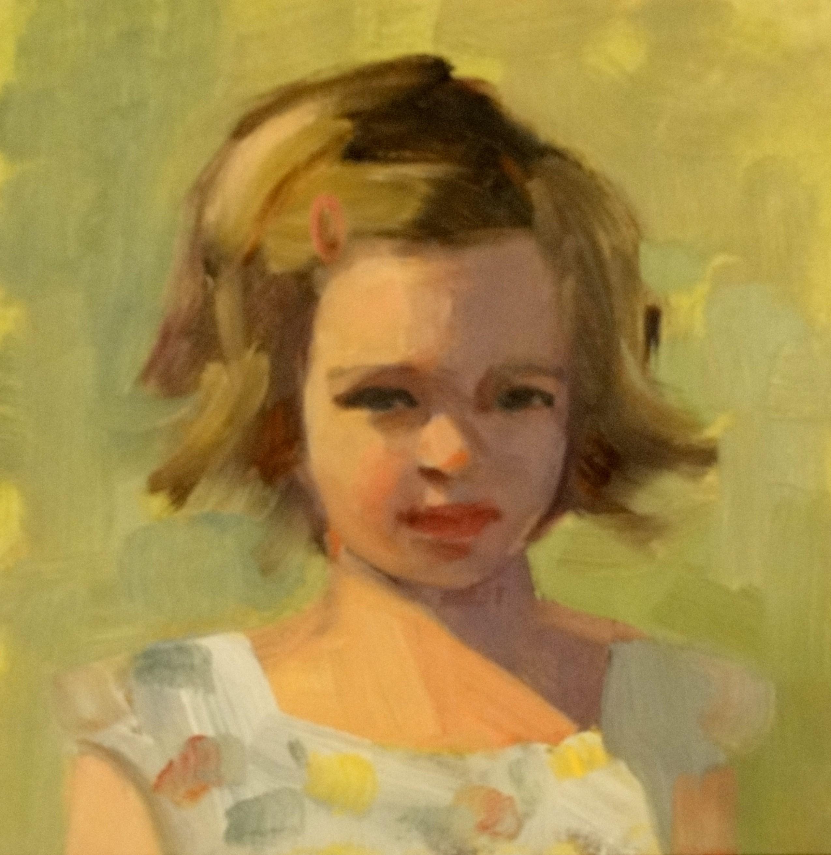 """A Sunny Day"" original fine art by Ann Feldman"