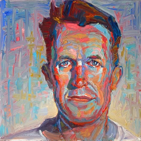 """T.E. Lawrence"" original fine art by Raymond Logan"