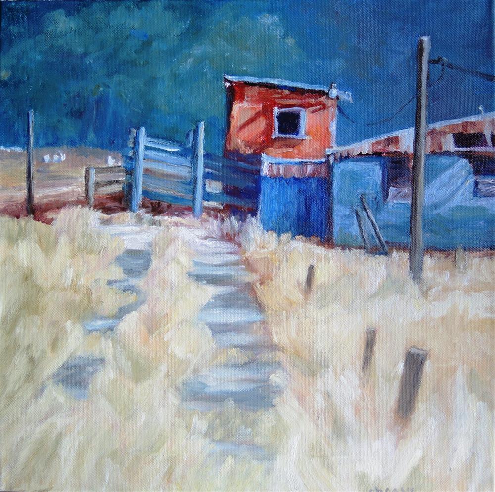 """Lonesome Road"" original fine art by Candi Hogan"