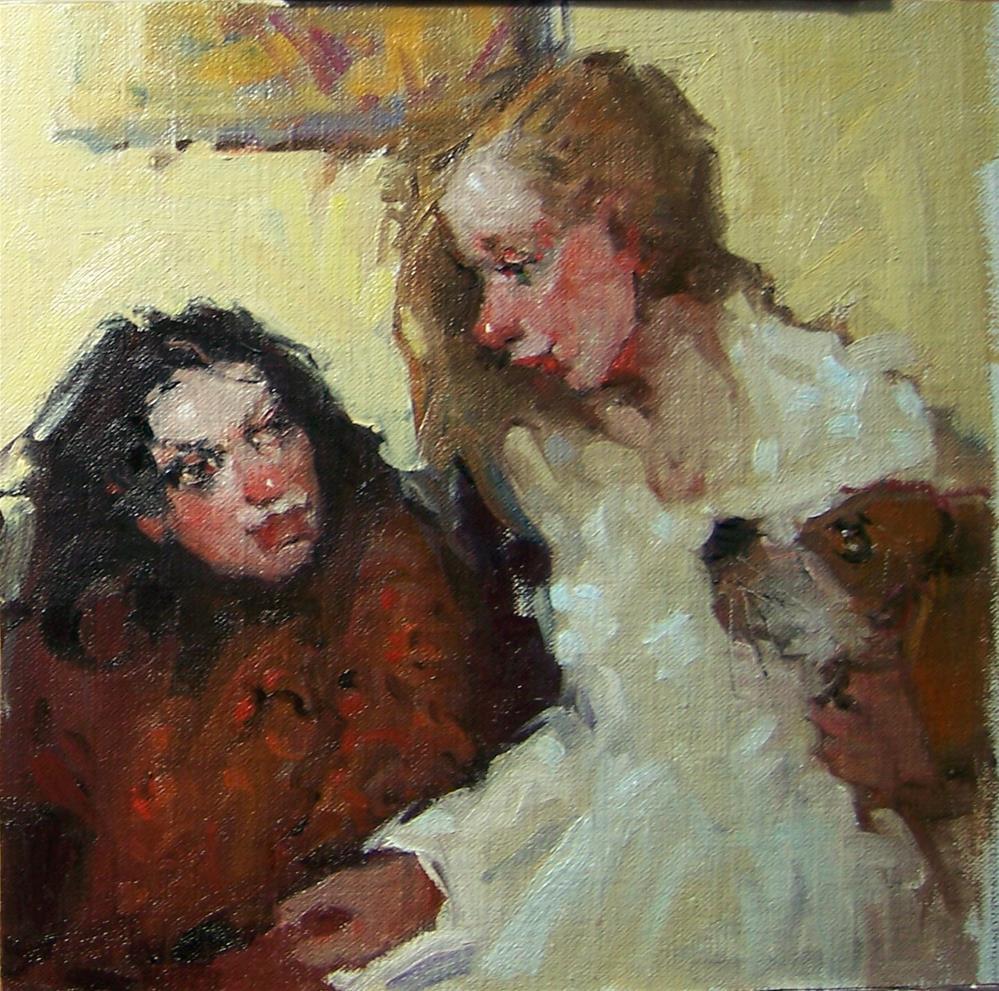 """All Ears"" original fine art by Kim Roberti"