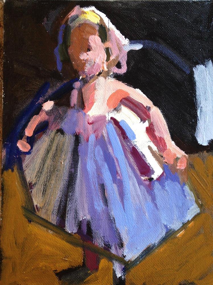 """""""Twirling Dress"""" original fine art by Pamela Hoffmeister"""