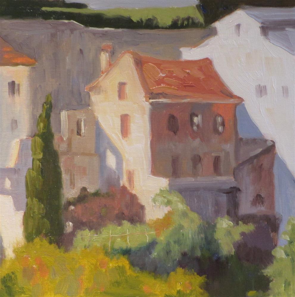"""View of Sintra"" original fine art by Judy Elias"