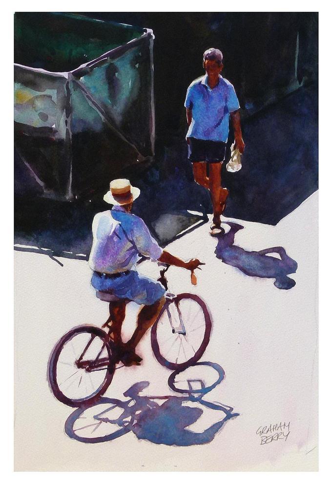 """'Good Morning'"" original fine art by Graham Berry"