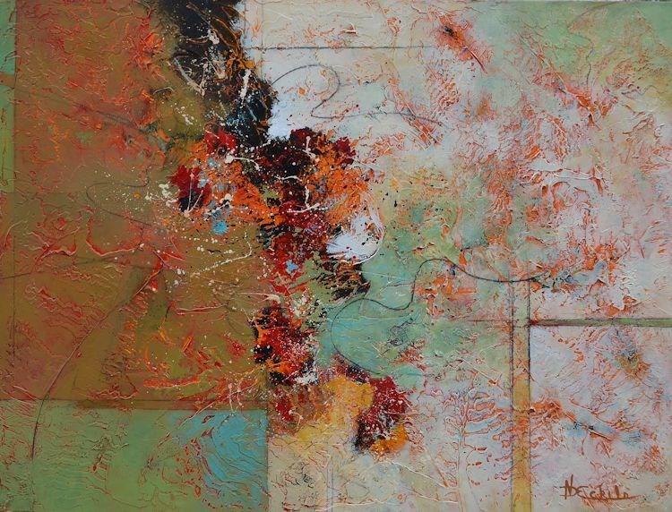 """Emerge"" original fine art by Nancy Eckels"