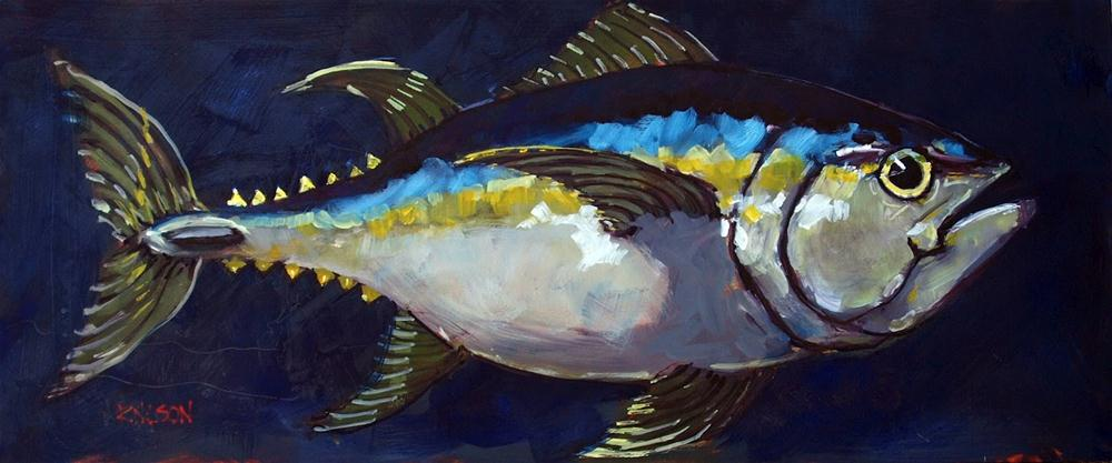 """Big Tuna"" original fine art by Rick Nilson"