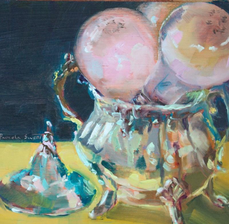 """One Lump or Two"" original fine art by Pamela Sweet"