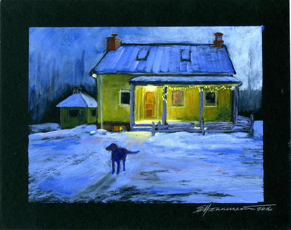 """Bob"" original fine art by Eileen Hennemann"