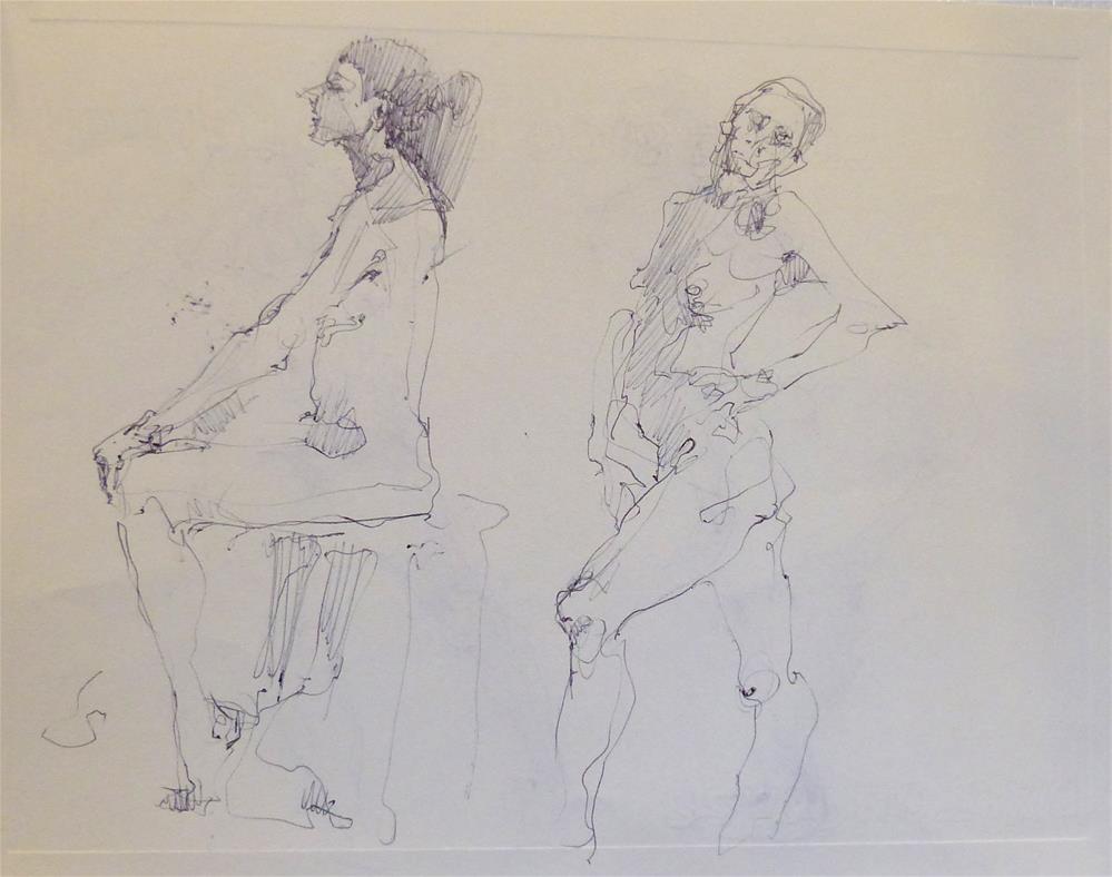 """sketchbook31"" original fine art by Katya Minkina"