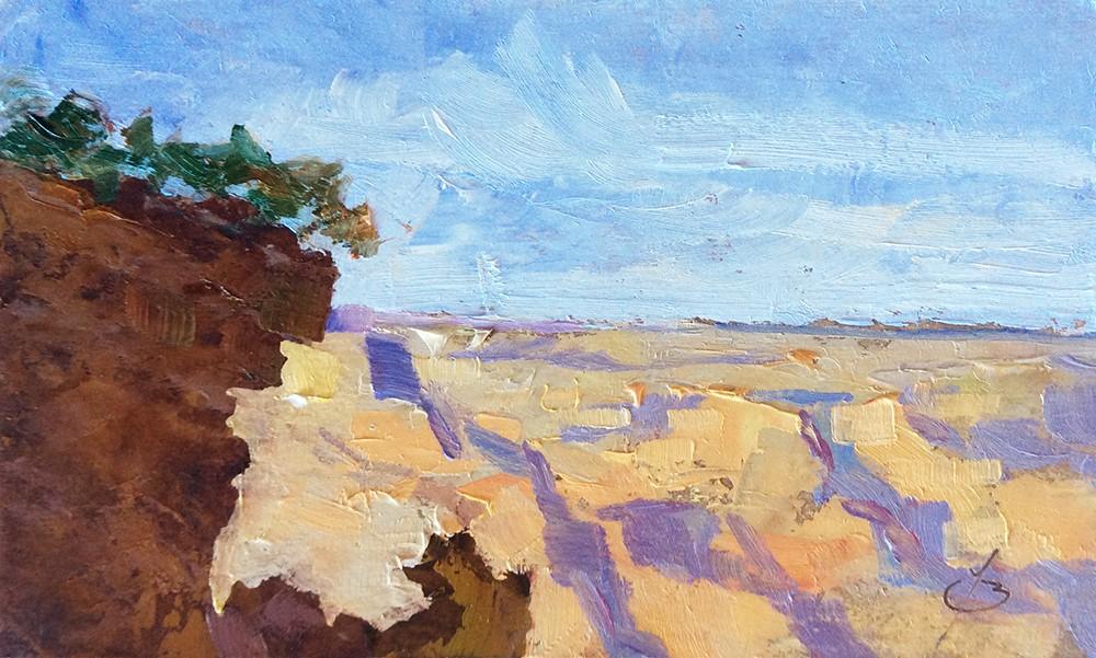 """GRAND CANYON"" original fine art by Tom Brown"