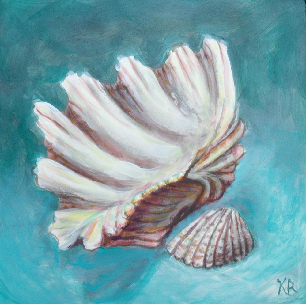 """Large and Small"" original fine art by Karen Roncari"