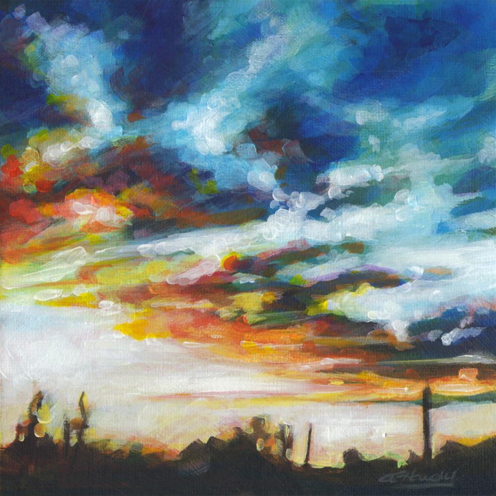 """North Light #2"" original fine art by Angela Hardy"