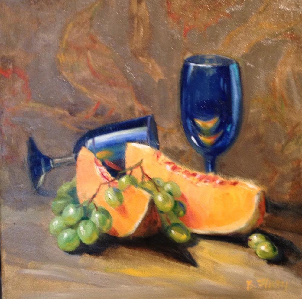 """Luscious Loupe"" original fine art by Barbara Fluty"